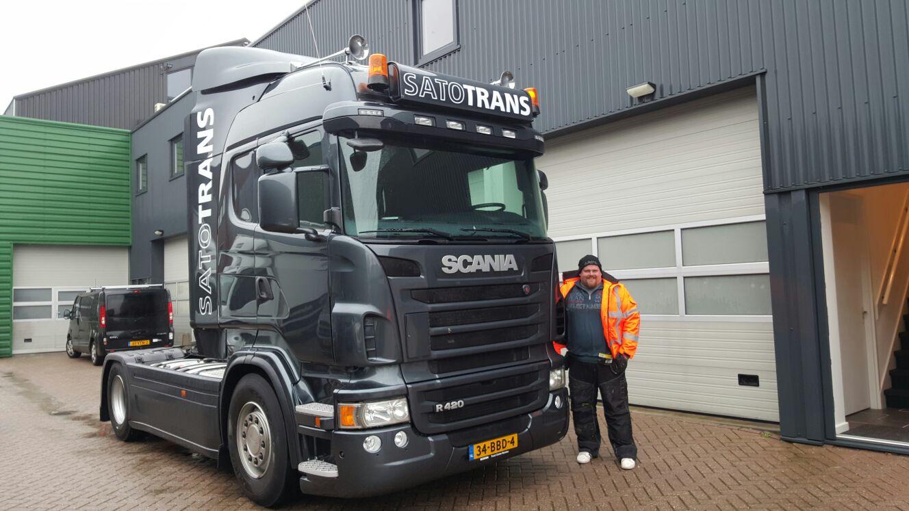 Satotrans vrachtwagen