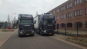 Vrachtwagens van SATOTRANS